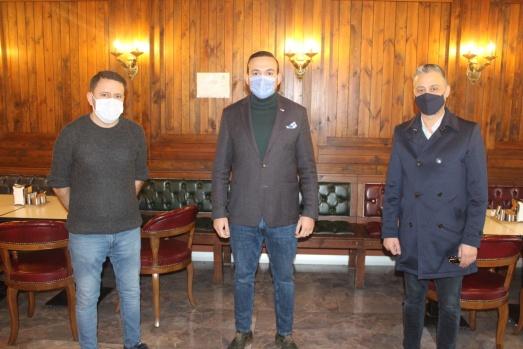 Kızılay Başkanı Hakan Nergis İle Ümit Öner Göktürk Esnafını Ziyaret etti