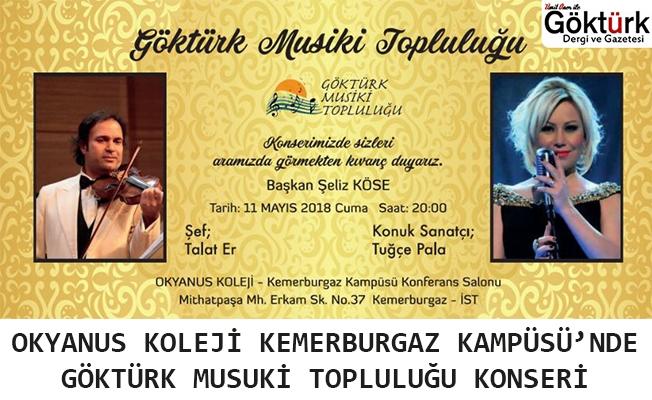 Göktürk Musiki Topluluğu Konseri Kemerburgaz Okyanus Koleji'nde