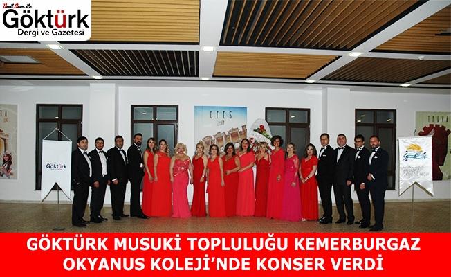 Göktürk Musuki Topluluğu Konserini Gerçekleştirdi.