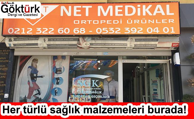 NET MEDİKAL KALİTELİ SAĞLIK ÜRÜNLERİYLE SİZLERLE!