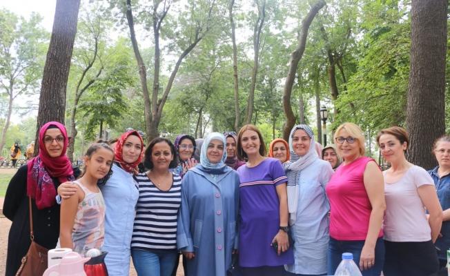 Eyüpsultanlı sporcu kadınlar piknikte buluştu!