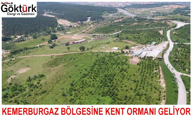 Kemerburgaz Bölgesi'ne Kent Ormanı Geliyor!