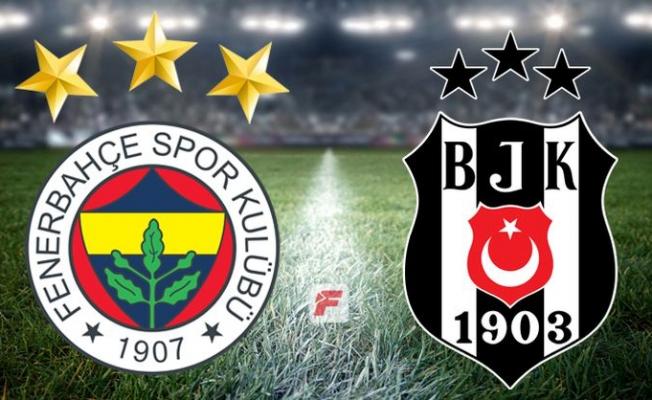 Fenerbahçe - Beşiktaş derbisinde puanlar paylaşıldı