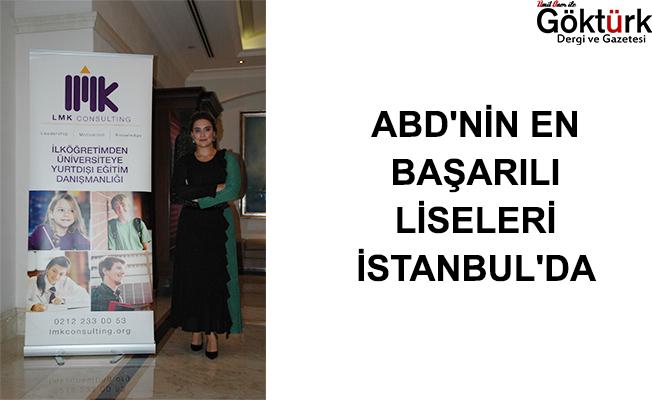ABD'NİN EN BAŞARILI LİSELERİ İSTANBUL'DA