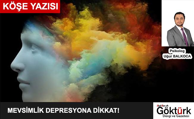 Mevsimlik Depresyona Dikkat !!! - Psikolog Uğur Balkoca