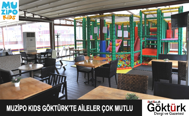 Muzipo Kids Göktürk'te Aileler Çok Mutlu