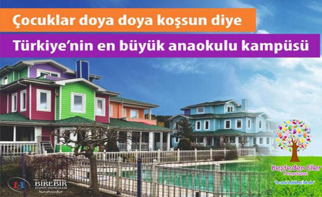 Türkiye'nin En Büyük Anaokulu Kampüsü'nde Erken Kayıtlar Başladı!