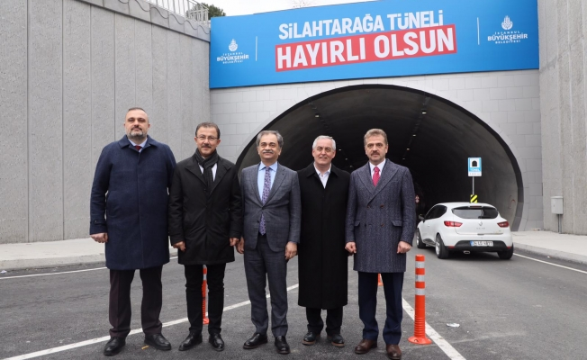 Silahtarağa Tüneli Açıldı
