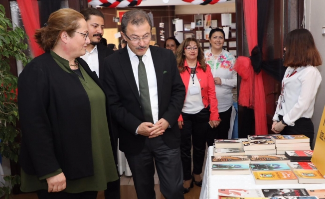 Başkan Deniz Köken, Haydar Akçelik Kitap Fuarı'na Katıldı