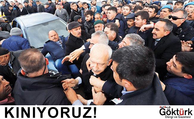 Kemal Kılıçdaroğlu'na Yapılan Saldırıyı Kınıyoruz!