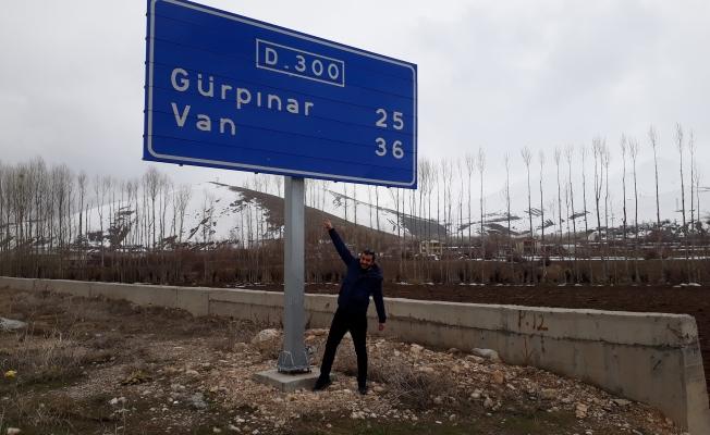 FİLM İÇİN VAN'DAN GELDİ