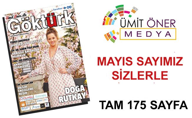 Göktürk Dergisi Mayıs Sayısı Sizlerle...