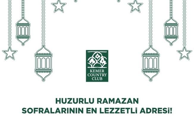 HUZURLU RAMAZAN SOFRALARININ EN LEZZETLİ ADRESİ!