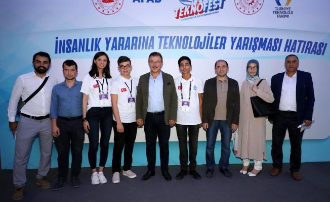 Eyüpsultanlı Gençlerin TEKNOFEST Başarısı
