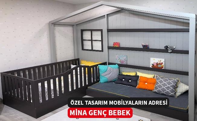 Özel Tasarım Bebek ve Genç Odalarının Adresi Mina Genç Bebek