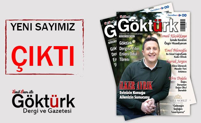 Göktürk Dergisi Yeni Sayısı Çıktı