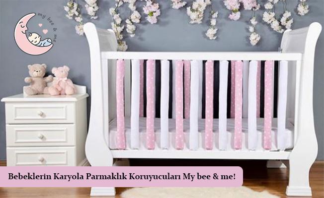 Bebeklerin Karyola Parmaklık Koruyucuları Mybeeandme!