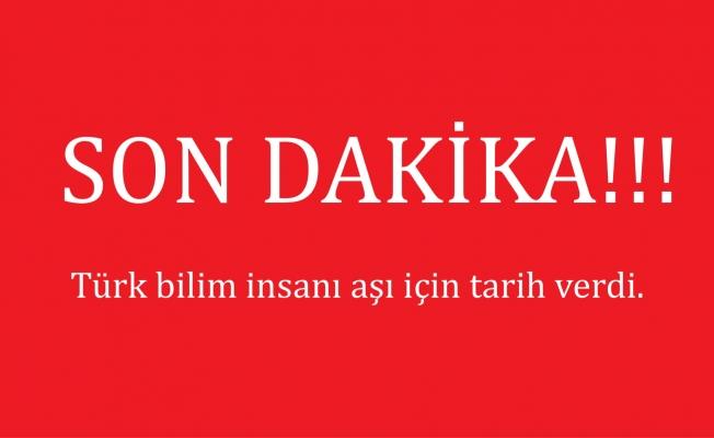 Türk bilim insanı aşı için tarih verdi!