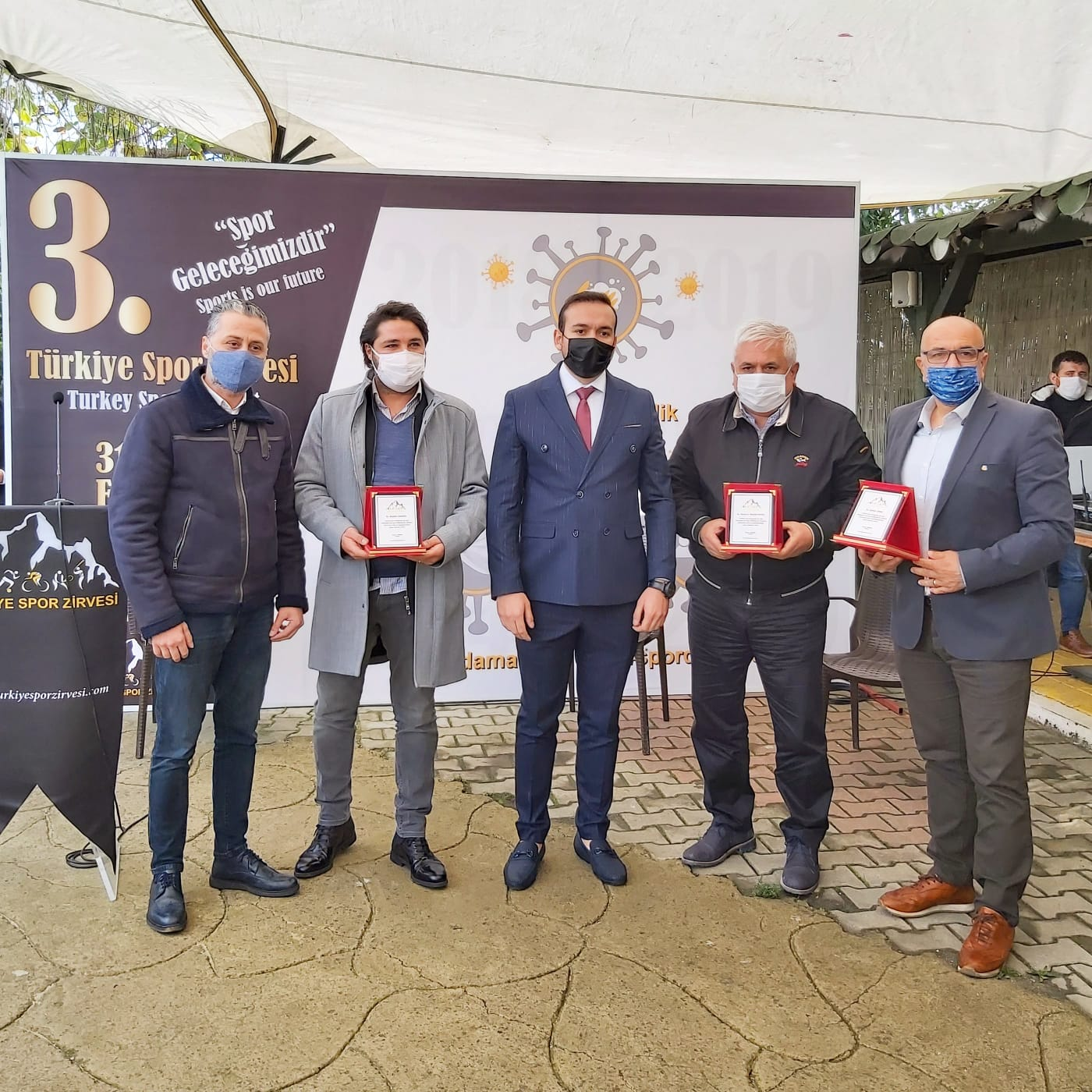 3. Türkiye Spor Zirvesi Ödülleri Sahiplerini Buldu