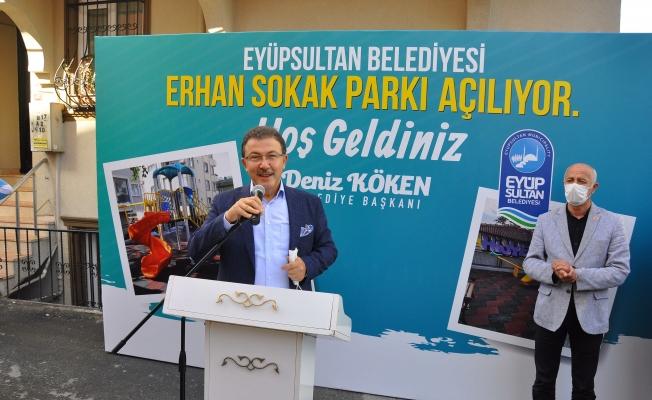 Esentepe Mahallesi Erhan Sokak Parkı Hizmete Açıldı