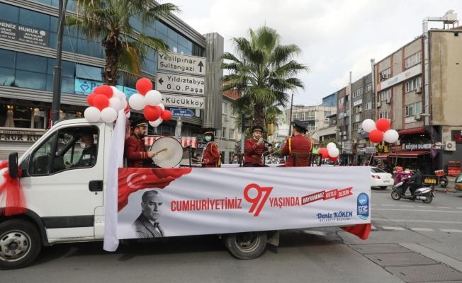 Eyüpsultan'da 29 Ekim Cumhuriyet Bayramı Coşkuyla Kutlandı (Video görüntüleri linktedir)