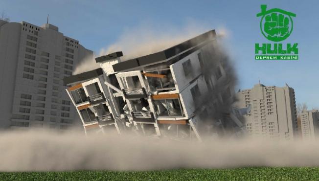 Hulk Deprem Kabini İle Önleminizi Alın