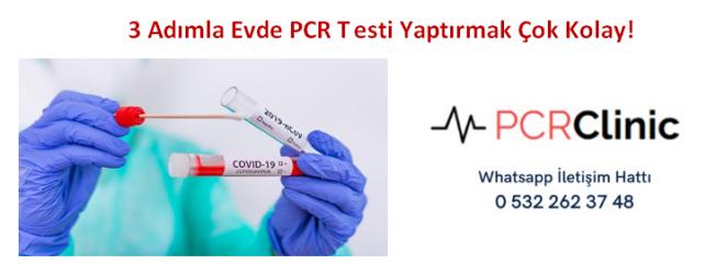 3 Adımla Evde PCR Testi Yaptırmak Çok Kolay!