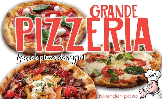 Grande Pizzeria Paket Servisi ile sizlere ulaşmaya devam ediyor...