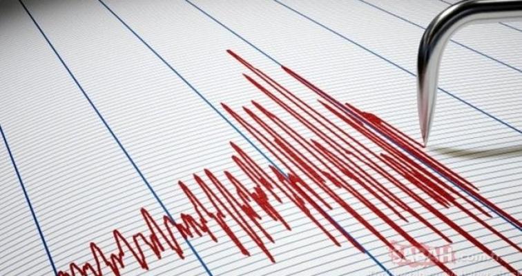 Son dakika deprem haberi: Marmara Denizi'nde 3.7 büyüklüğünde deprem! İstanbul ve Balıkesir'de hissedildi