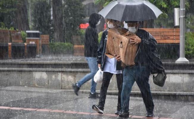 Son dakika: Meteoroloji uyardı! Sağanak yağış bekleniyor.