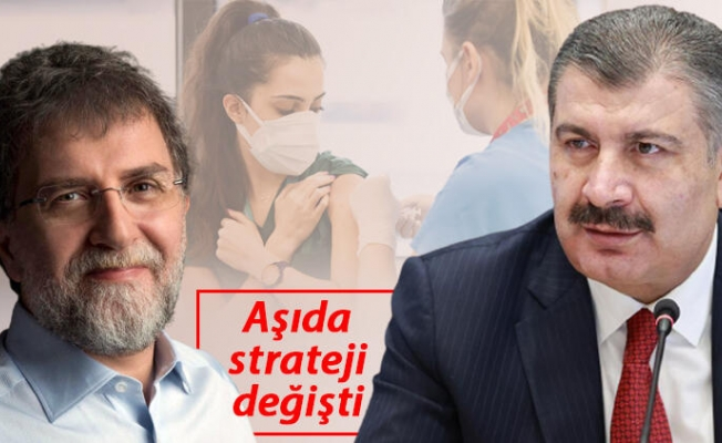 """Bakan Koca Ahmet Hakan'a konuştu: 20 yaş üstü haziranda.. """"Sorun çözüldü"""""""