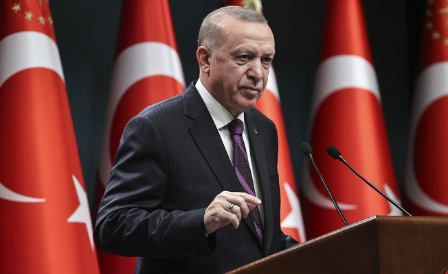 """Son dakika.. Erdoğan: Orman yangınlarından etkilenen bölgelerimizi """"Genel Hayata Etkili Afet Bölgesi"""" ilan ettik"""