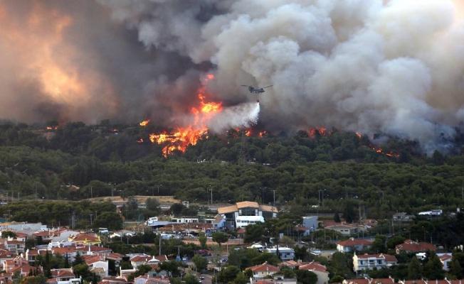 Komşudan sevindiren haber! Tüm yangınlar kontrol altına alındı