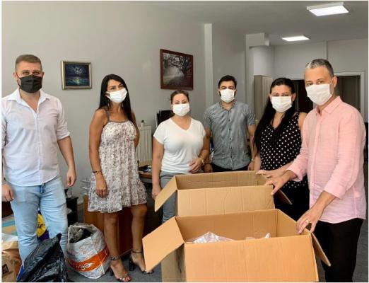 Mono Tıp Merkezi ve Göktürk Dergisi'nin Yardım Aracı Marmaris Belediyesi'ne Ulaştı.