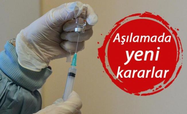 Sağlık Bakanlığı'ndan koronavirüs aşısına ilişkin yeni kararlar!