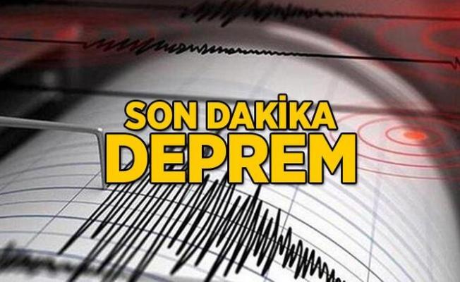 Son dakika: Kütahya'da 5 büyüklüğünde deprem! Çok sayıda ilden hissedildi