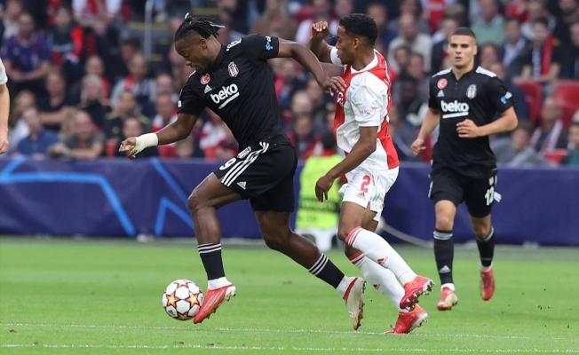 Beşiktaş, Ajax'a 2-0 mağlup oldu