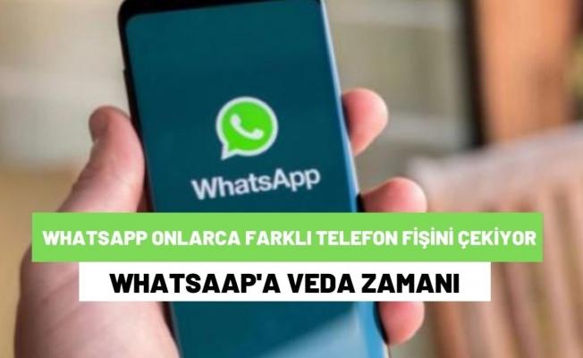 WhatsApp onlarca farklı telefon modelinde artık kullanılamayacak