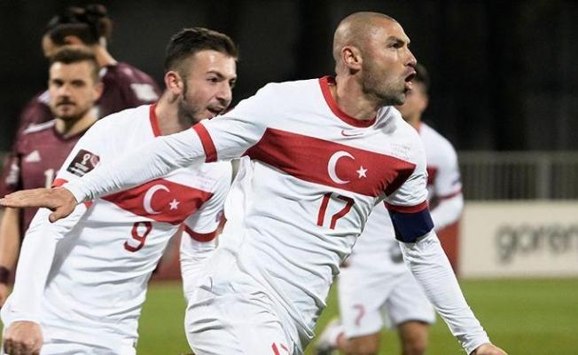 2022 FIFA Dünya Kupası Elemeleri: Letonya 1 - 2 Türkiye