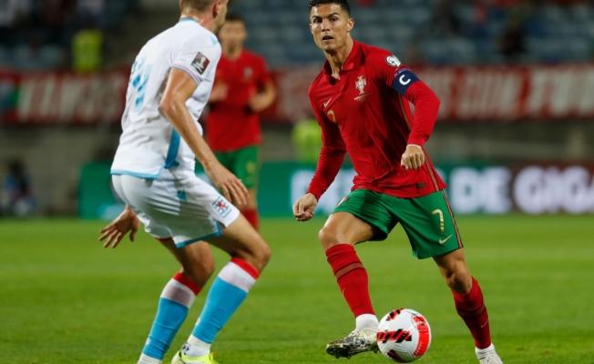 Ronaldo'lu Portekiz, Lüksemburg'u beşledi