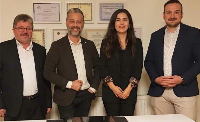 Uzm. Psk. Hacer Bolat Eyüp Şehit ve Gazi Aileleri Derneği Başkanı Mehmet Fişek'e Müjdeyi Verdi