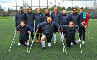 Göktürk Ampute Futbol Takımı Şampiyonluğa Koşuyor