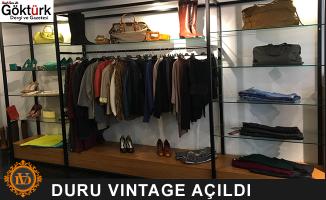 Göktürk'ün İlk Vıntage Mağazası Duru Vintage Açıldı!