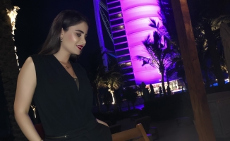 Kadın Dizisi Oyuncusu'nun Dubai tatili