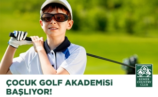 Kemer Country Club Golf Akademisi Başlıyor!