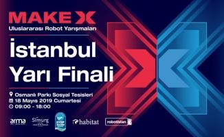 MakeX Uluslararası Robot Turnuvası, Eyüpsultan'da düzenlenecek