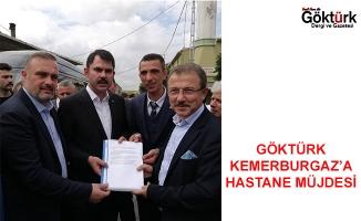Göktürk Kemerburgaz'a Hastane Müjdesi