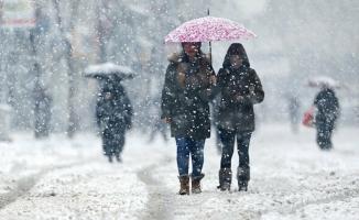 Meteoroloji'den son dakika hava durumu uyarısı! Sağanak yağmur ve kar yağışı...