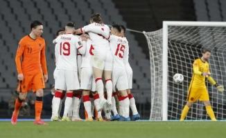 Türkiye - Hollanda maç sonucu: 4-2