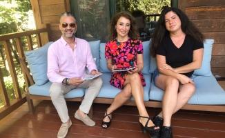 Yazar Emine Yaltı ile Gerçek Bir Karga Hikayesi için Biraraya Geldik.